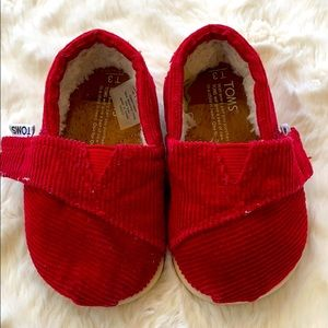 🎀Toms🎀toddler shoes size (3)